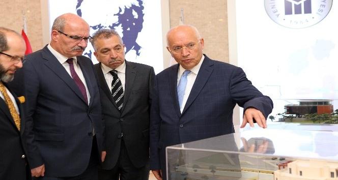 ATO Başkanı Baran, Başkan Fethi Yaşar'ı ziyaret etti