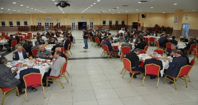 Başkan Süleyman Özkan'dan protokole iftar