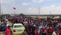 (Özel haber) Kilisteki Suriyeli mülteciler ülkelerine dönmek istiyor