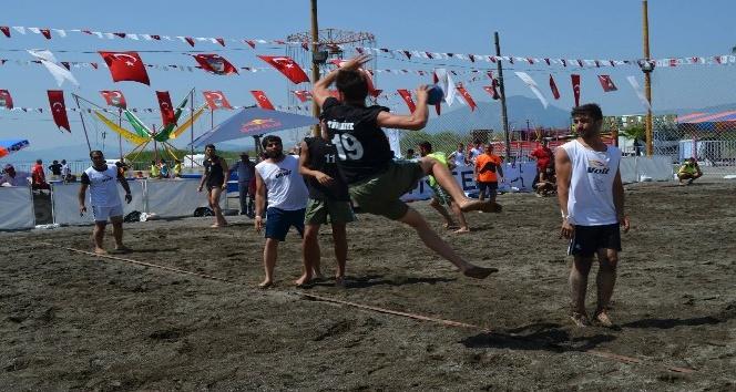 Köyceğiz'de plaj hentbolu heyecanı 4 Temmuzda başlıyor