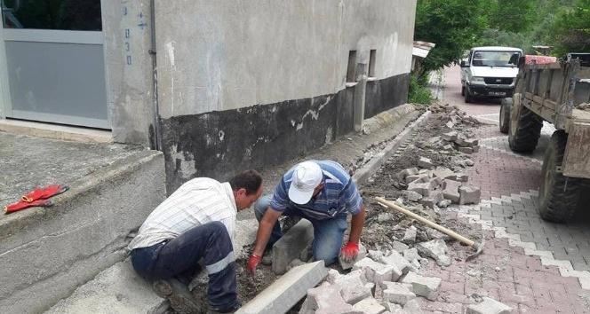 Bayırköy Beldesi'nde çalışmalar devam ediyor