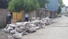 Tatvanda kömür yardımı dağıtımı