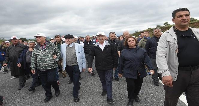 CHP'nin 'Adalet Yürüyüşü'nün 6. günü