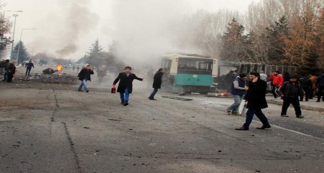 Kayseri'deki bombalı saldırının 21 zanlısı 15 kez nitelikli kasten adam öldürme suçundan yargılanacak