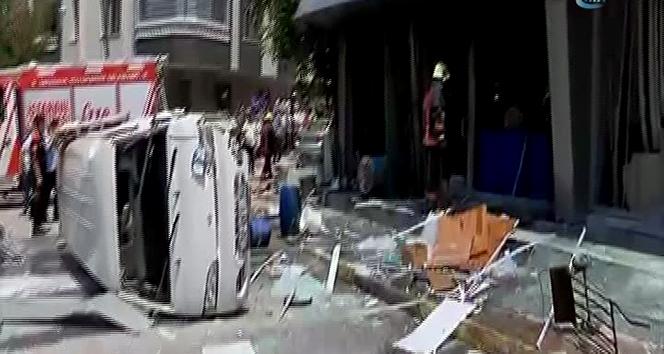 İstanbulda bir iş yerinde patlama!