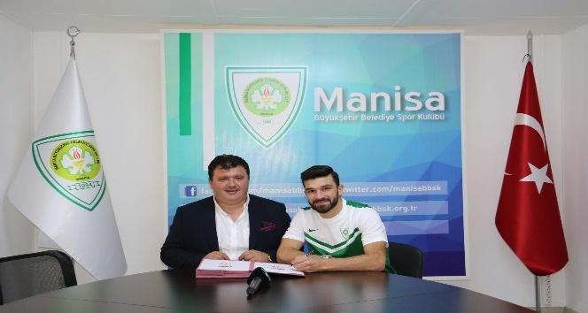 Manisa Büyükşehir'den orta sahaya takviye