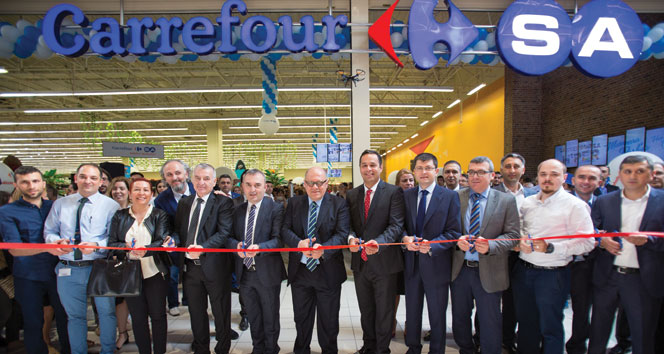 CarrefourSA Hipermarketini 11 Milyon Liraya yeniledi