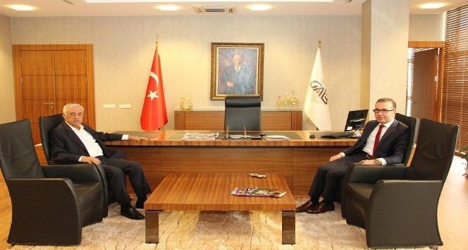 Vergi Dairesi Başkanı Halil Tekin GAİB'i ziyaret etti