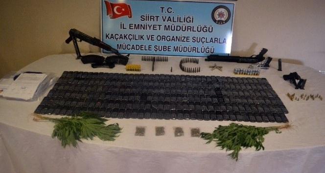 Siirt merkezli 3 ilde suç örgütlerine operasyon: 29 gözaltı