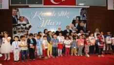 İlk kez oruç tutan çocukların iftar heyecanı