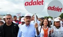 CHP'nin 'Adalet Yürüyüşü'nde MYK toplantısı