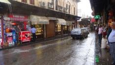 Kiliste aniden bastıran yağmur etkili oldu