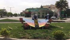 Kilis Belediyesi park ve bahçelerde çalışmalarını hızlandırdı