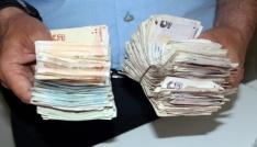 75lik dilenciden 7 bin lira çıktı