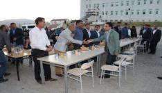 Kaymakam Dundar korucularla iftar yaptı