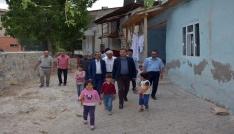 VASKİ Genel Müdürü Çatakta incelemelerde bulundu