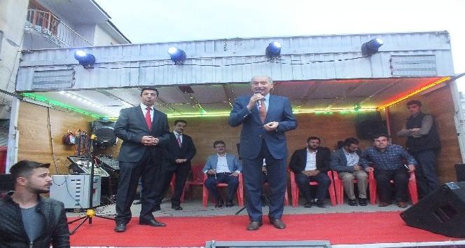 Başakşehir Belediye Başkanı Mevlüt Uysal Malazgirtte
