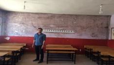 Çaldıran Belediyesinden okullarda tadilat çalışması