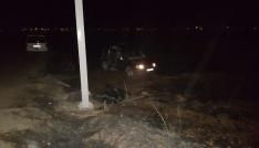 Şanlıurfada trafik kazası: 1 ölü, 3 yaralı