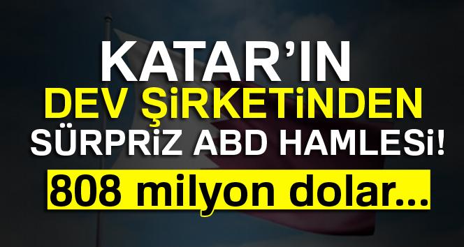 Katar'dan ABD'ye 808 milyon dolarlık teklif