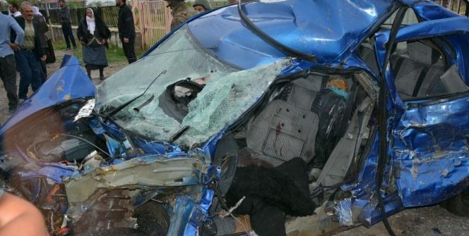 Patnos'ta trafik kazası: 1 ölü, 3 yaralı