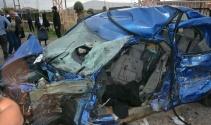 Patnosta trafik kazası: 1 ölü, 3 yaralı