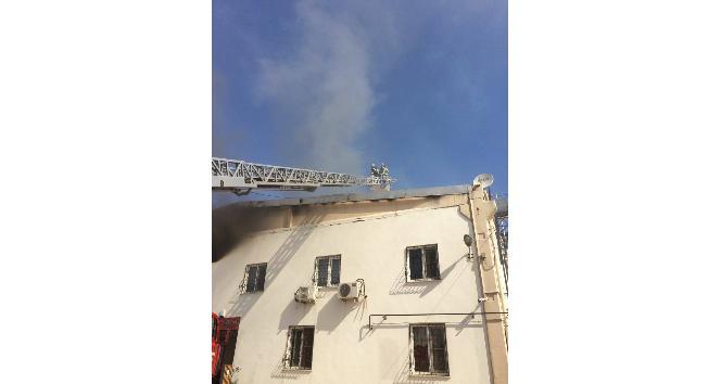 OSBde fabrikada çıkan yangın korkuttu