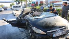 İzmirde trafik kazası: 1 ağır yaralı