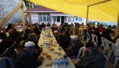 Şehit ailesinden protokole iftar