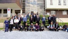 Yozgatta 19 çiftçiye 5 bin adet aşılı asma fidanı dağıtıldı