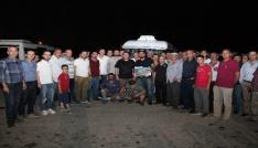 Başkan Soyludan dolmuşçulara bayram hediyesi