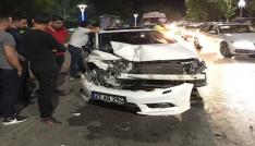 Elazığda zincirleme kaza: 2 yaralı