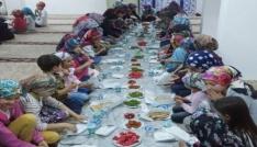 Hisarcıkta Yaz Kuran Kursu öğrencilerine iftar yemeği