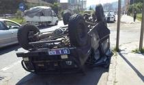 Özel hareket polisleri kaza yaptı: 7 yaralı