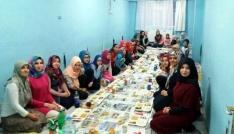 Soğuk Çeşme Kız Kuran Kursunda iftar
