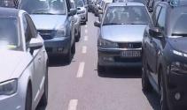 İstanbulda trafik yoğunluğu başladı