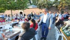 Gebzenin mahalle iftarları büyük iftarla sona erdi