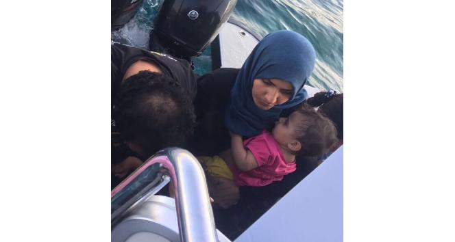 48 göçmen son anda kurtarıldı