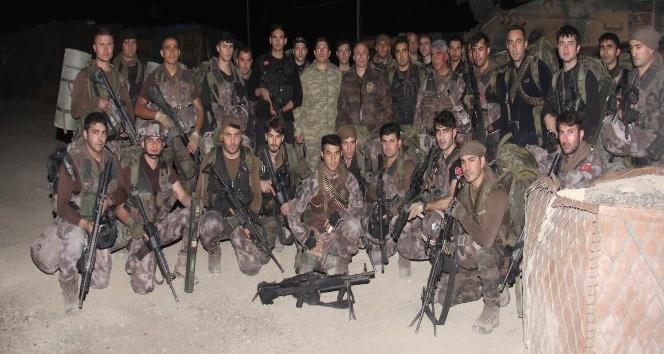 Polis ve askerden ortak operasyonu