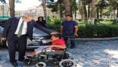 11 Yaşındaki Mehmetin isteği Haliliye Belediyesi ile gerçekleşti