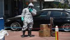 Kargoda kimyasal madde sızıntısı