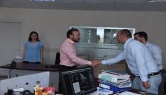 Başkan Doğan, Belediye personeliyle bayramlaştı