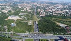 FSM Köprüsü istikameti bayram trafiği havadan görüntülendi
