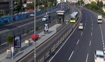 Tatilciler gitti, İstanbulda yollar boş kaldı