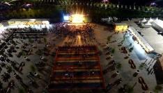 İBBnin Maltepe Ramazan ayı etkinlik alanı havadan görüntülendi