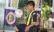 Geleceğin futbol yıldızı Mersin'de yetişiyor