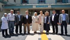 Milletvekili Eldemir ve Başkan Bakıcıdan hastane ziyareti