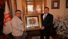 Vali Elbandan Başkan Yağcıya veda ziyareti