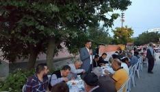 Pazaryerinde mahalle iftarları