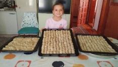 Hisarcıklı kadınların bayramlık ev baklavaları hazır